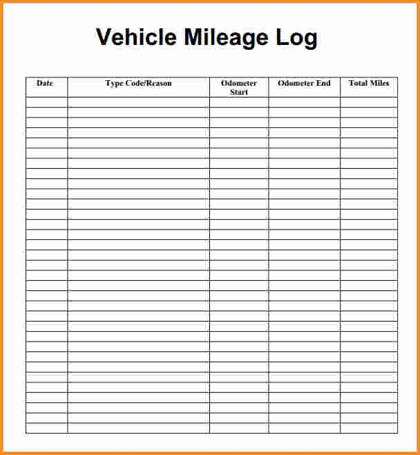 Free Mileage Log Template Fresh Free Mileage Spreadsheet for Taxes Samplebusinessresume
