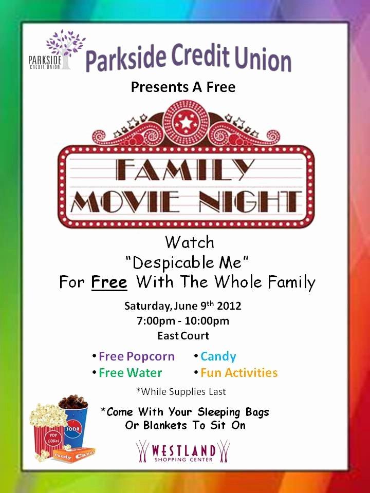 Free Movie Night Flyer Templates Best Of Best Printable Movie Night Flyer Template – Arixta