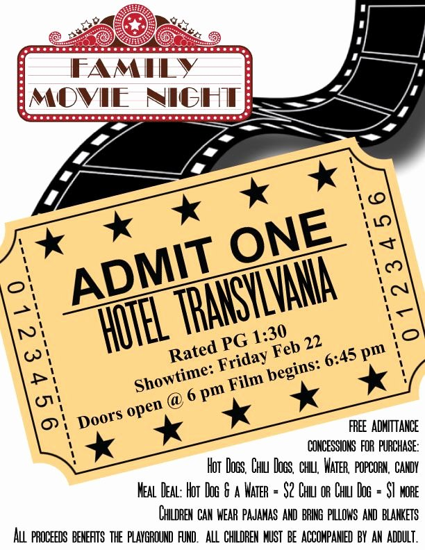 Free Movie Night Flyer Templates Lovely 418 Best Images About Volunteer Party Ideas On Pinterest
