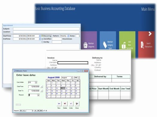 Free Ms Access Templates Beautiful Ms Access Database Templates