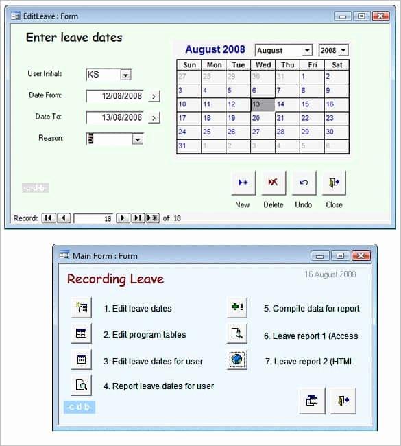 Free Ms Access Templates Elegant 29 Microsoft Access Templates