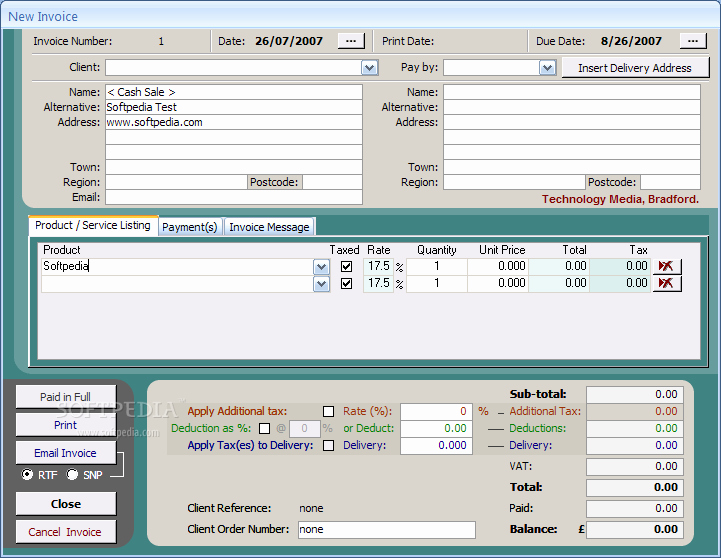 Free Ms Access Templates Elegant Access Invoice Database