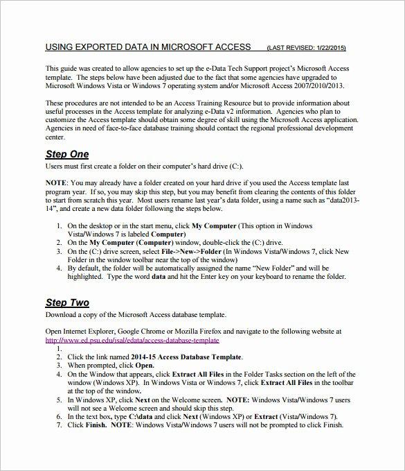 Free Ms Access Templates Elegant Microsoft Access Templates