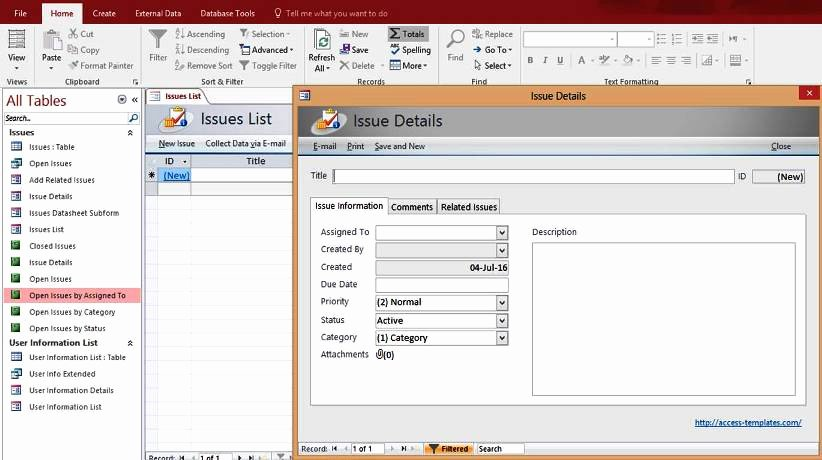 Free Ms Access Templates Inspirational Access Database Templates
