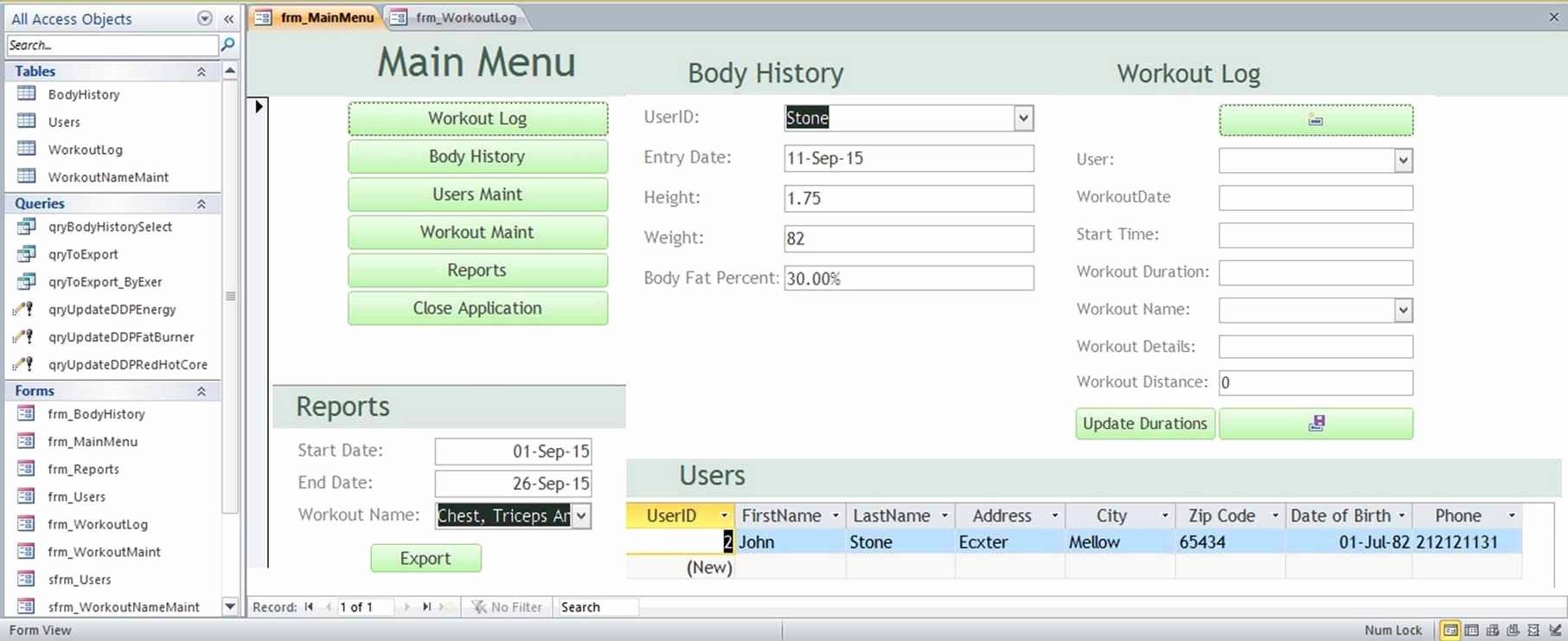 Free Ms Access Templates Inspirational Microsoft Access Family Tree Genealogy History Templates