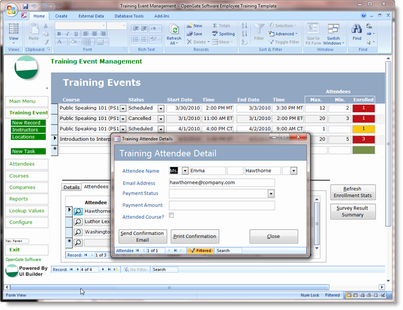 Free Ms Access Templates Inspirational Microsoft Access Templates Powerful Ms Access Templates