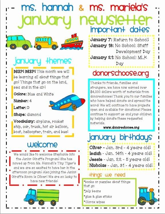 Free Newsletter Templates for Preschool Awesome Image Result for Kids Newsletter Template Free