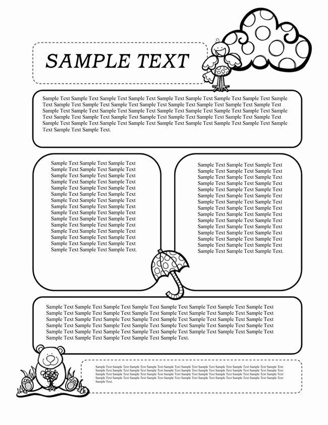 Free Newsletter Templates for Preschool Best Of 16 Preschool Newsletter Templates Easily Editable and