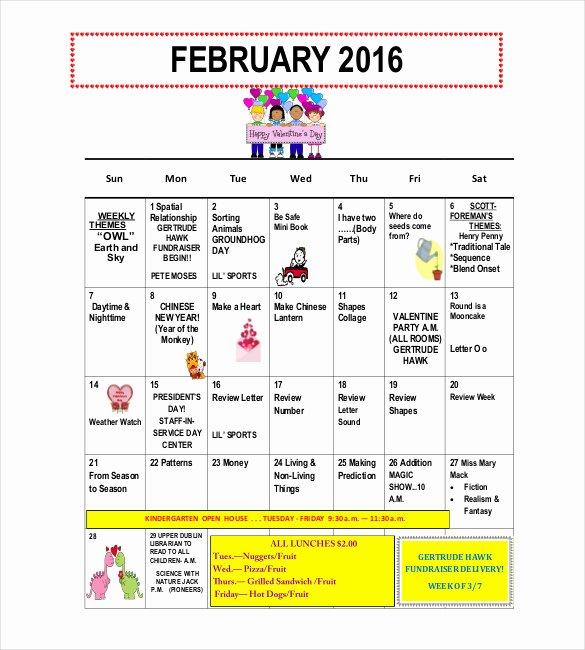 Free Newsletter Templates for Preschool Fresh 10 Preschool Newsletter Templates – Free Sample Example