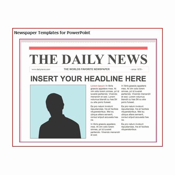 Free Newspaper Template for Word Beautiful Download Free software Newspaper Layout Template for