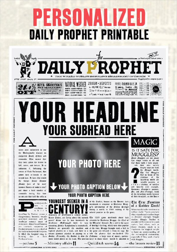Free Newspaper Template for Word Best Of Newspaper Template 16 Free Word Pdf Documents Download