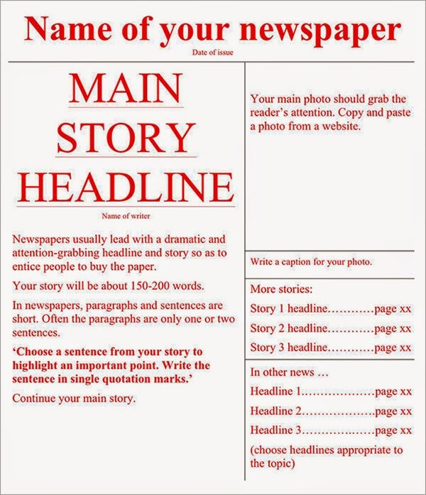 Free Newspaper Template for Word Lovely Best Newspaper Templates Free Download