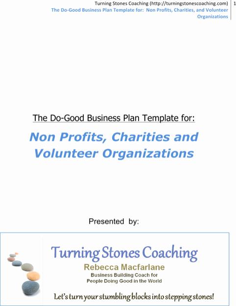 Free Nonprofit Business Plan Template Inspirational Download Non Profit Business Plan Template for Free