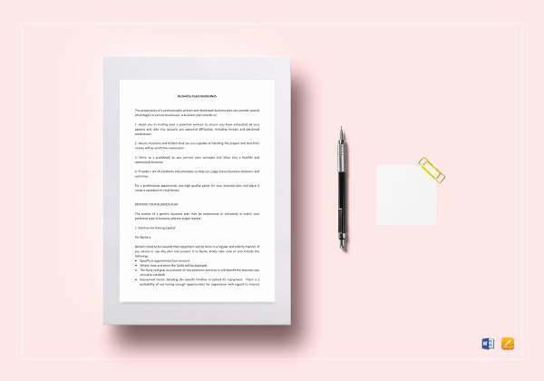 Free Nonprofit Business Plan Template Luxury Non Profit Business Plan 14 Pdf Word Documents