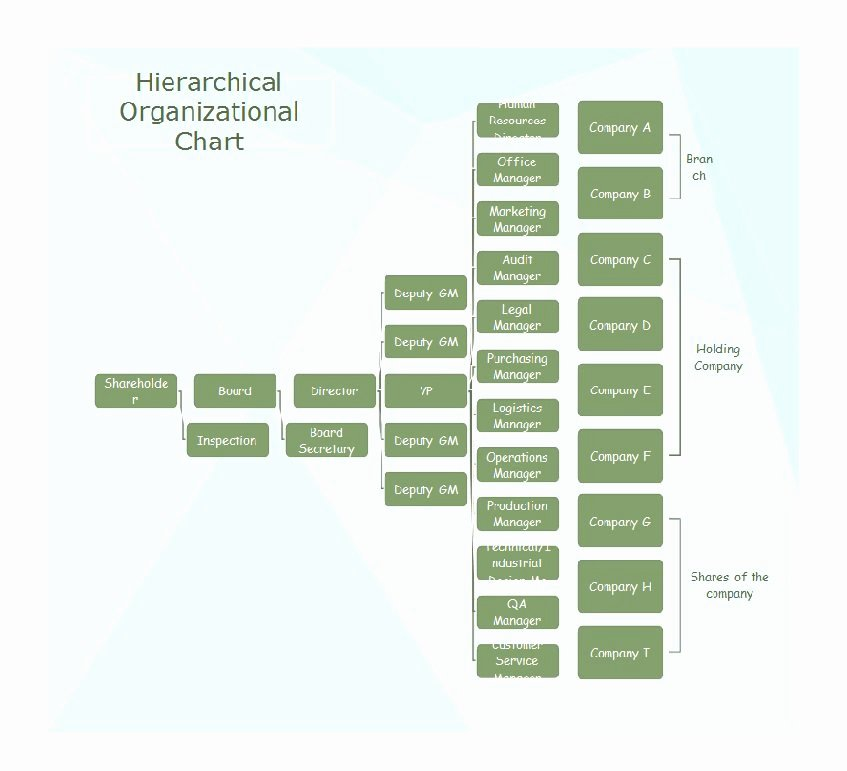 Free organizational Chart Template Elegant 40 Free organizational Chart Templates Word Excel