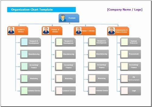 Free organizational Chart Template Fresh 25 Best Free organizational Chart Template In Word Pdf Excel
