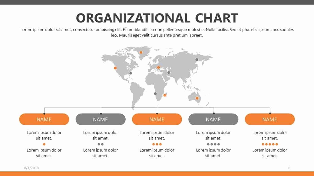 Free organizational Chart Template Luxury Free organizational Chart Templates for Powerpoint