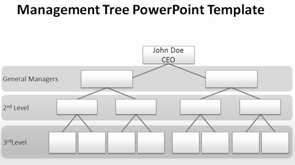 Free organizational Chart Template Luxury How to Make A Management Tree Template In Powerpoint From