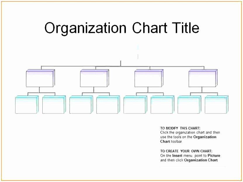 Free organizational Chart Template Word Luxury 6 Editable organizational Chart Template Ppfop