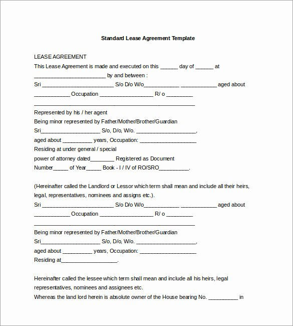 Free Partnership Agreement Template Word Elegant Agreement Template – 20 Free Word Pdf Documents Download