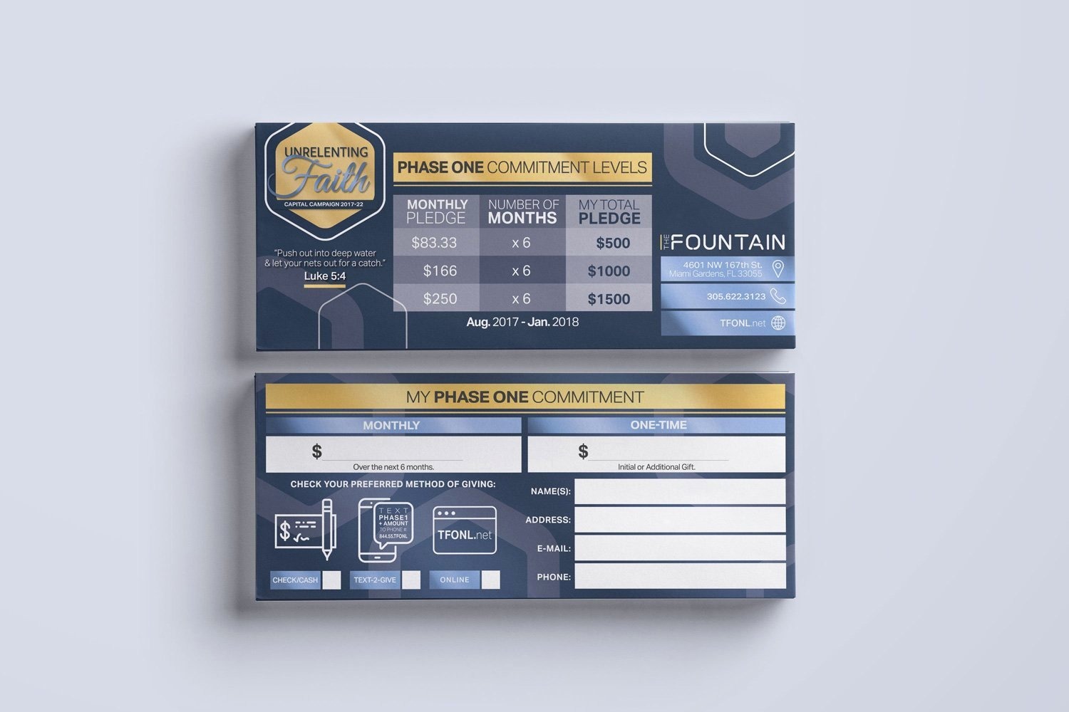 Free Pledge Card Template Fresh Pledge Cards & Mitment Cards