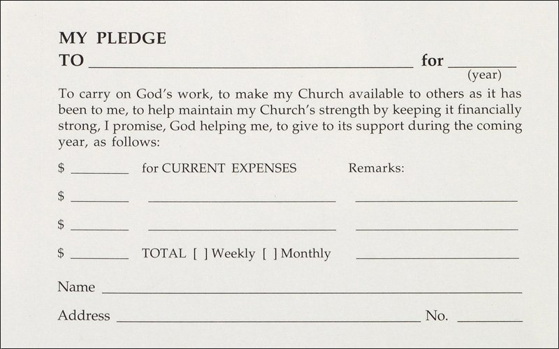 Free Pledge Card Template Inspirational Pledge and Wel E Cards E Write Pany