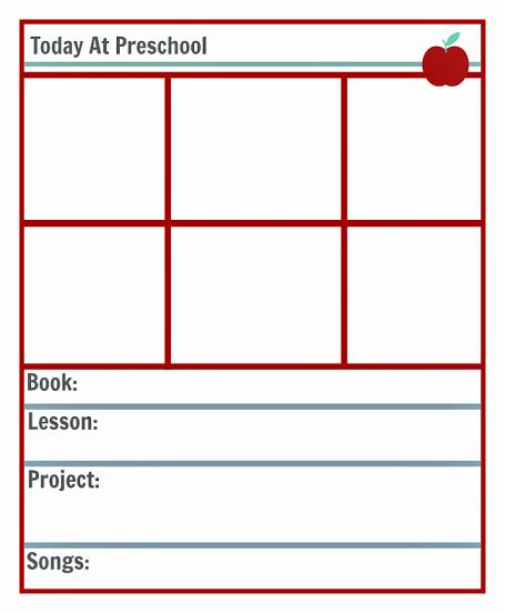 Free Preschool Lesson Plan Template Beautiful Preschool Lesson Planning Template Free Printables