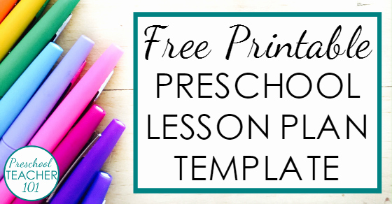 Free Preschool Lesson Plan Template Fresh Preschool Lesson Plan Template for Weekly Planning