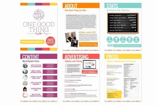 Free Press Kit Template Elegant 32 Best Media Kit Design Examples Images On Pinterest