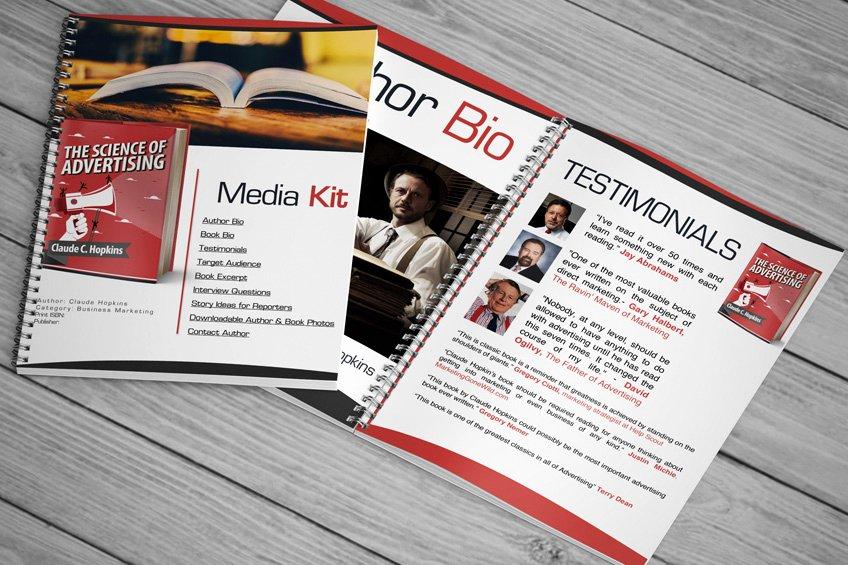 Free Press Kit Template Inspirational Author Media Kit Customizable Template