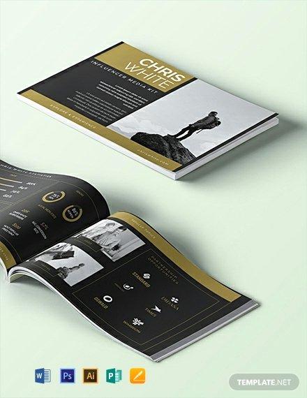 Free Press Kit Template Inspirational Free Influencer Media Kit Template Download 29 Media