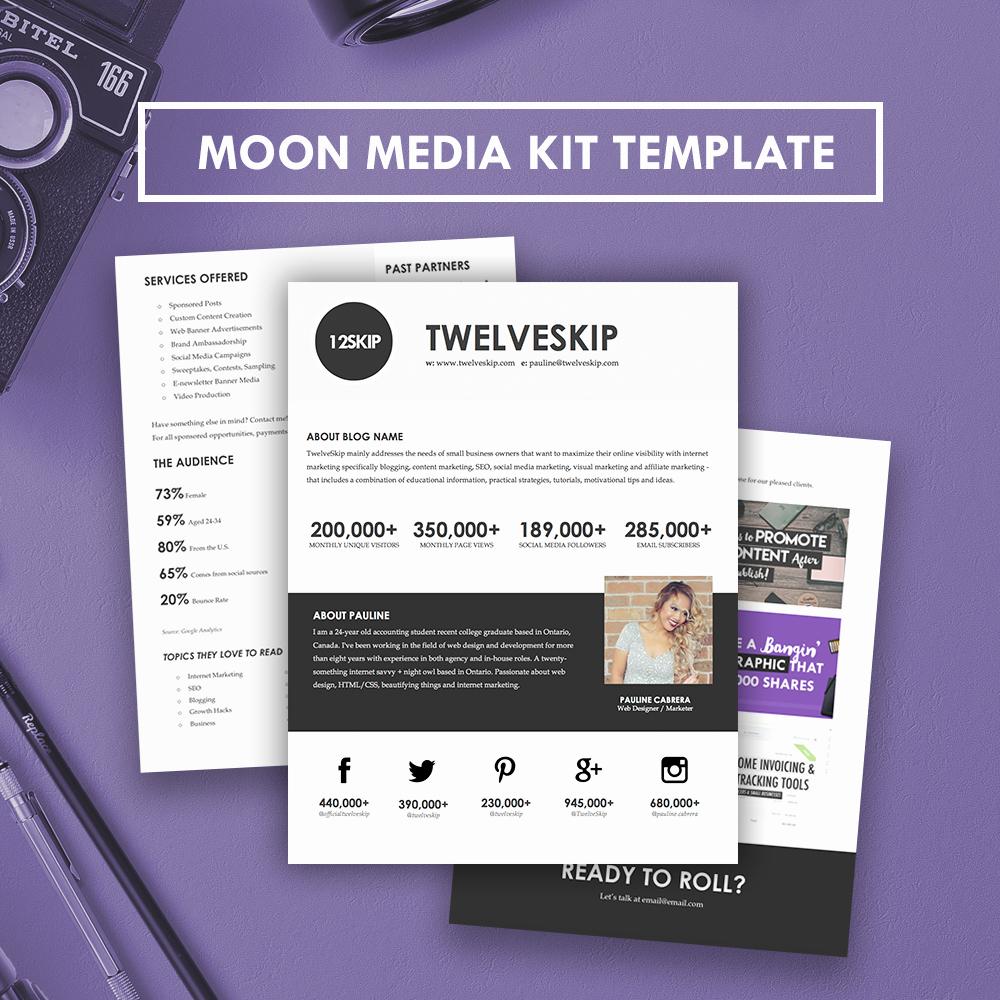 Free Press Kit Template Inspirational Media Kit Template