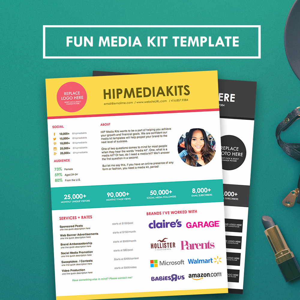 Free Press Kit Template New Fun Media Kit Press Kit Template Hipmediakits