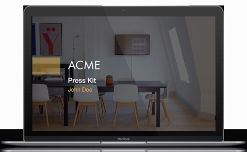 Free Press Kit Template New Press Kit Template Free Pdf & Ppt Download — Slidebean