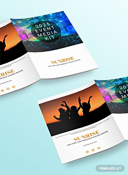 Free Press Kit Template Unique Free Media Kit Templates Download Ready Made