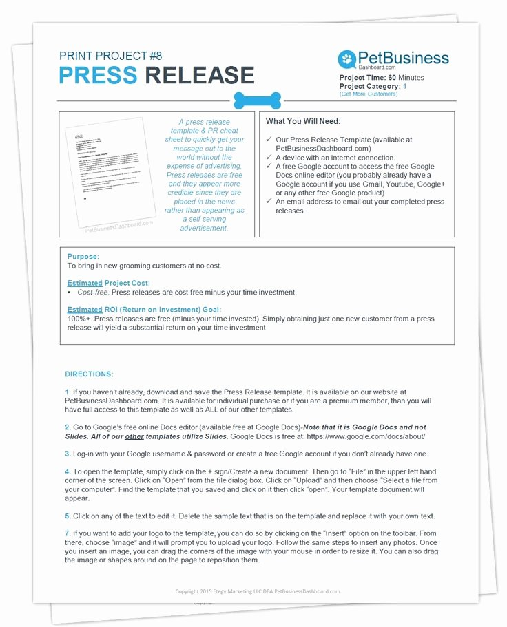 Free Press Releases Templates New Press Release Template & Cheat Sheet