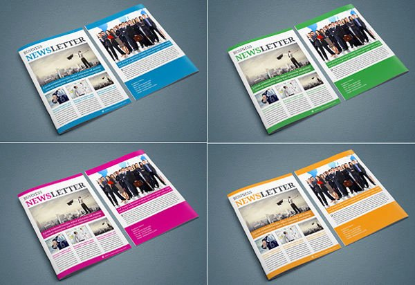 Free Print Newsletter Templates Awesome 9 Printable Newsletter Templates Free Sample Example
