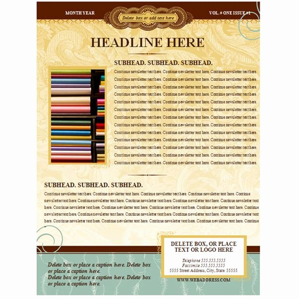 Free Print Newsletter Templates Elegant Find Out How to Make A Newsletter Free and Easy with A