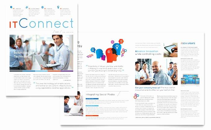 Free Print Newsletter Templates Inspirational Free Newsletter Templates Download Ready Made Designs