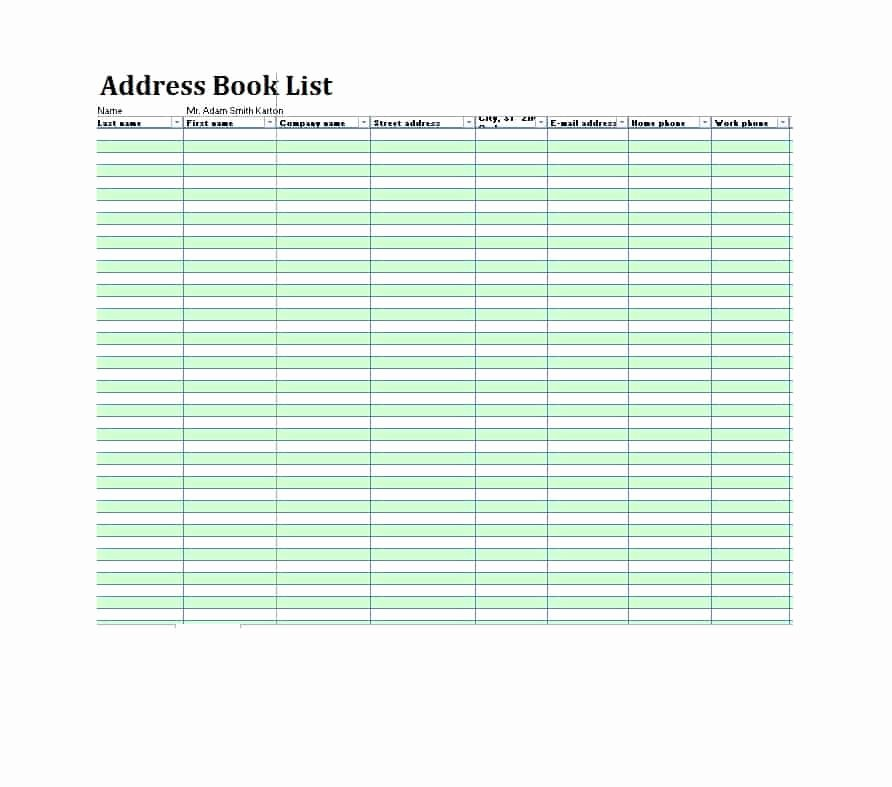 Free Printable Address Book Template Awesome 40 Printable & Editable Address Book Templates [ Free]