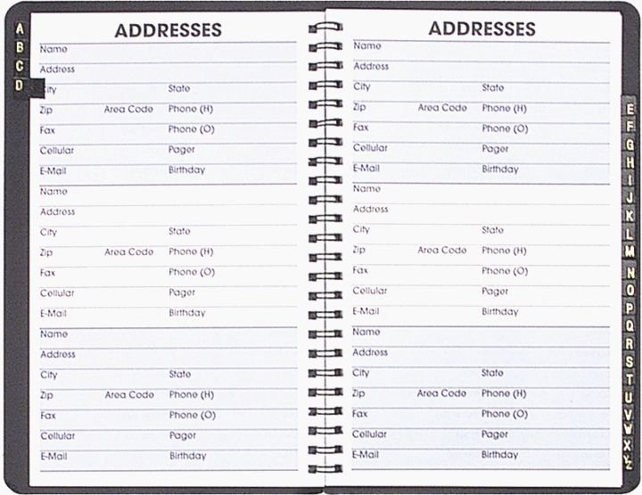 Free Printable Address Book Template Awesome Punchy Free Printable Address Book Pages