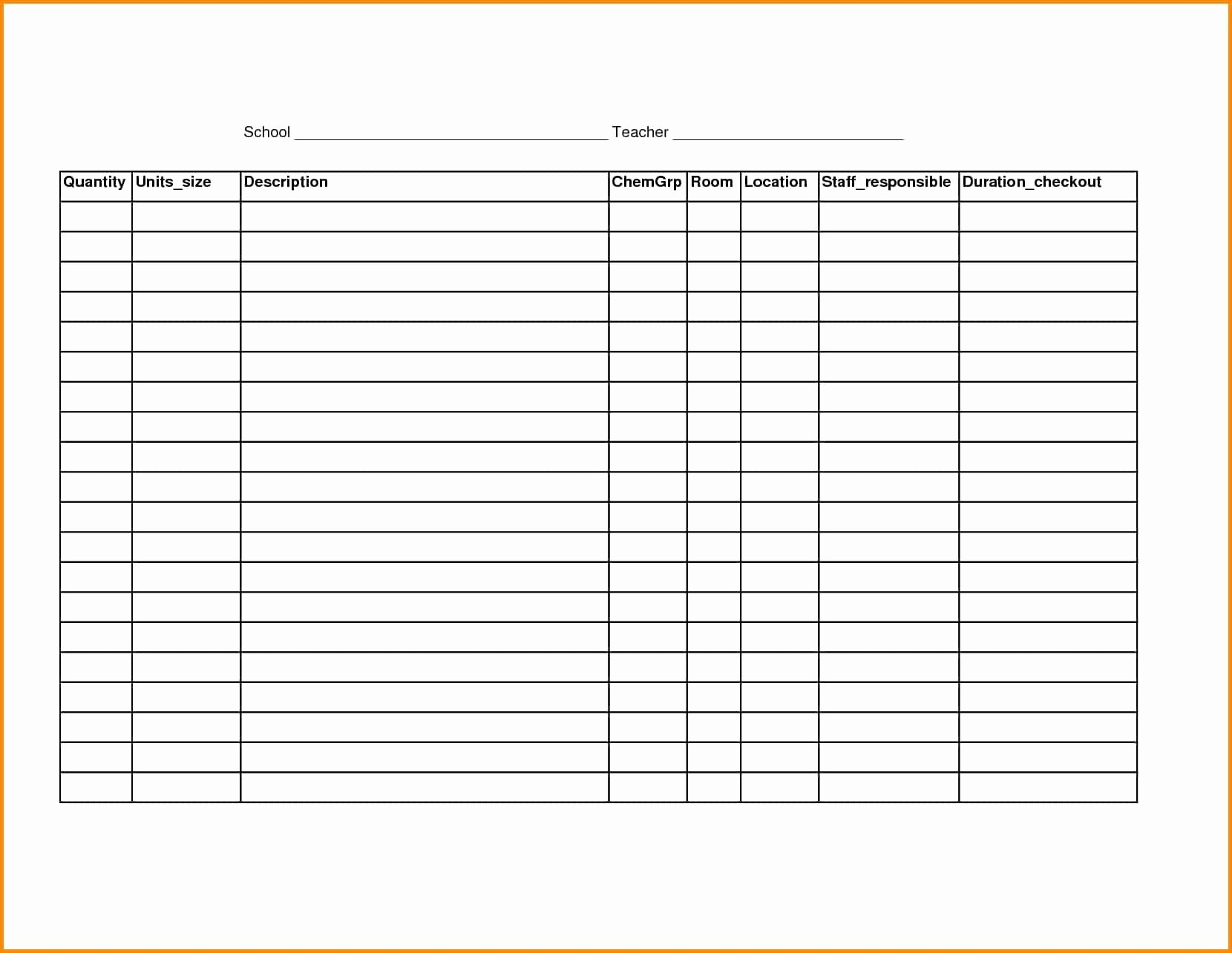 Free Printable Blank Spreadsheet Templates Lovely Free Printable Spreadsheet Samplebusinessresume