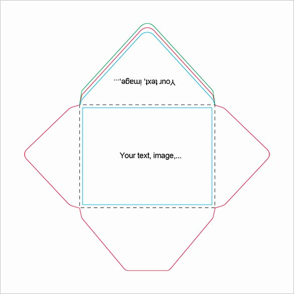 Free Printable Envelope Templates Beautiful Beautiful A2 Envelope Templates – 13 Free Printable Word