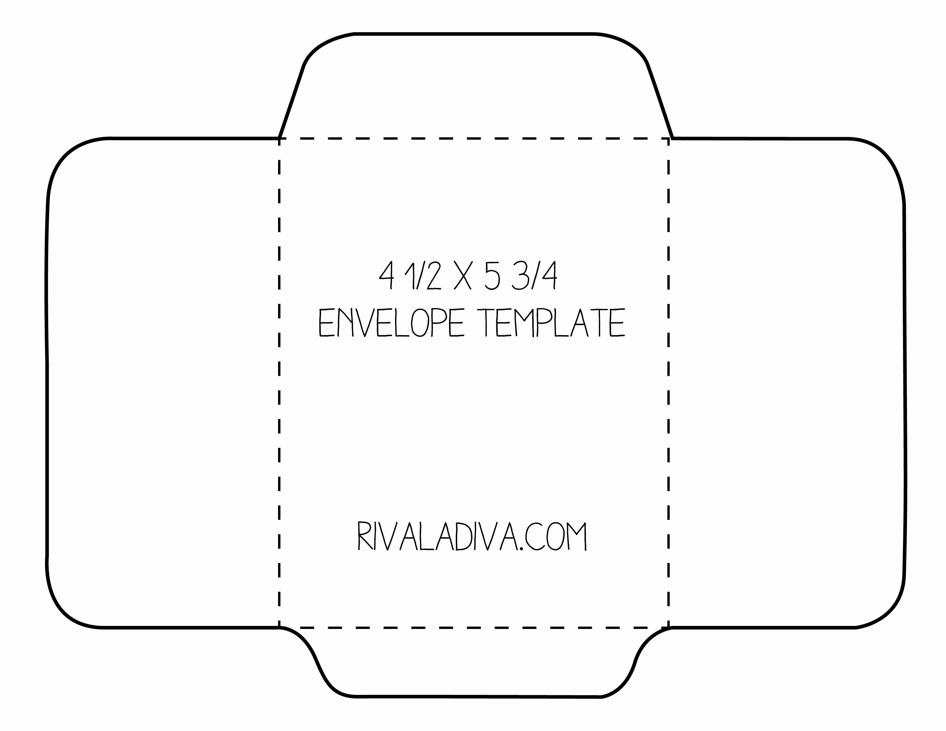 Free Printable Envelope Templates Best Of Envelope Template