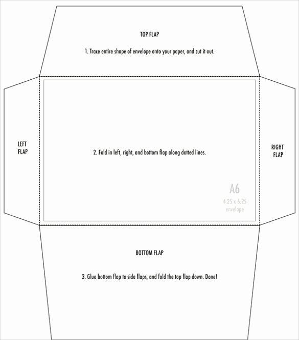 Free Printable Envelope Templates Fresh 4x6 Envelopes Psd Pdf