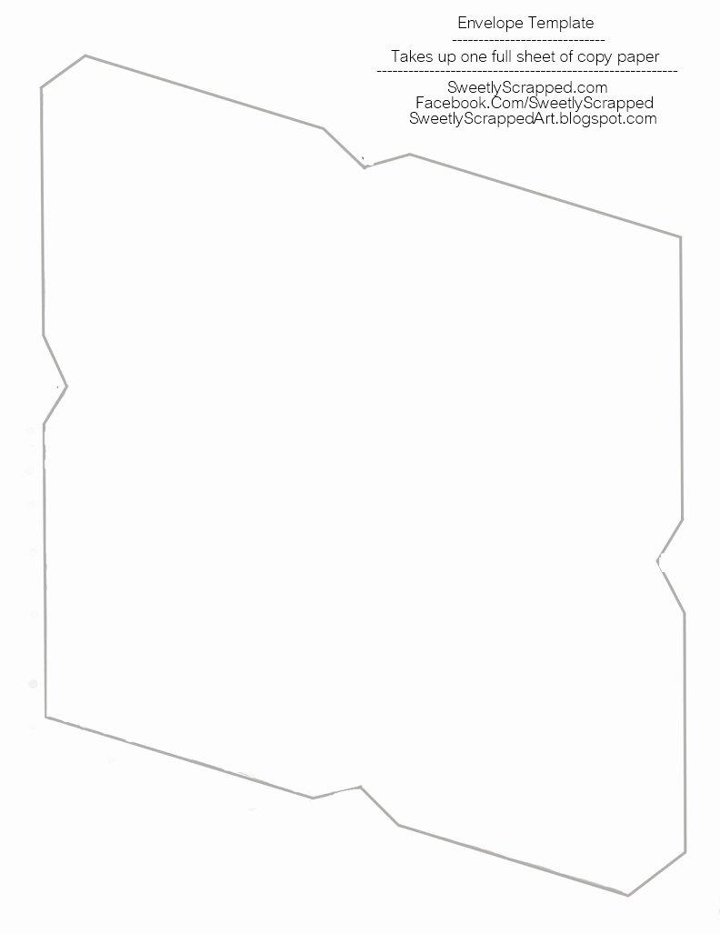 Free Printable Envelope Templates Fresh Sweetly Scrapped Free Printable Envelopes