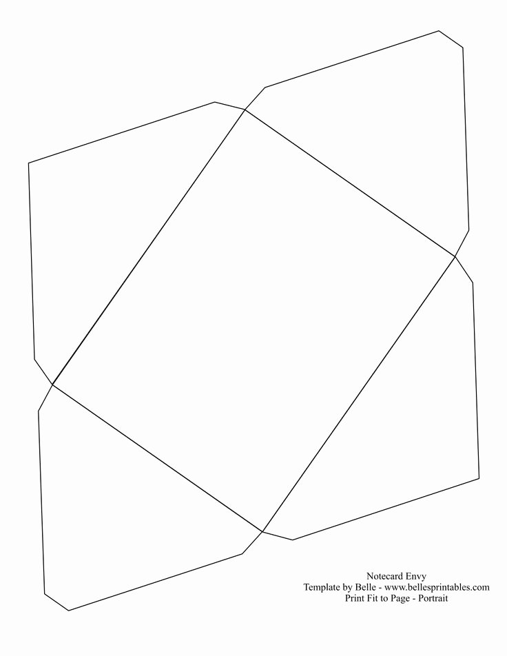 Free Printable Envelope Templates Fresh Template for A Envelope Cerca Con Google