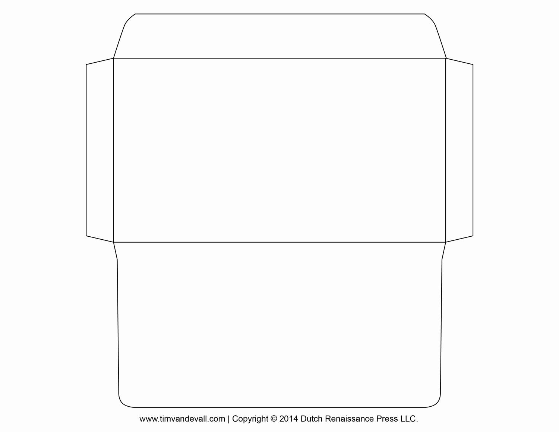Free Printable Envelope Templates Inspirational Envelope Template 3 Templates