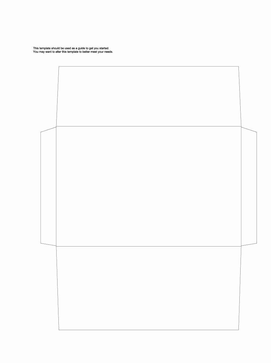 Free Printable Envelope Templates Lovely 40 Free Envelope Templates Word Pdf Template Lab