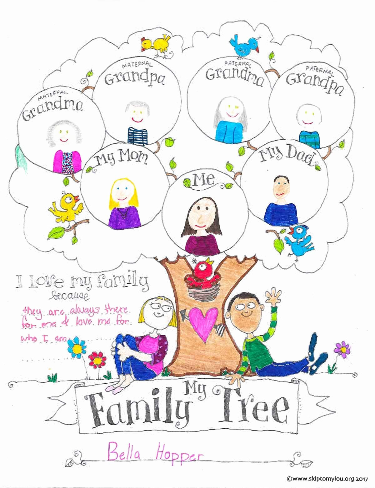 Free Printable Family Tree Template Best Of Free Printable Family Tree Coloring Page